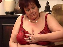 Granny, Milf, Big tits
