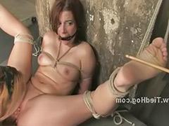 Spanked slut, Roped, Hard tied, Rope, Hard spank, Hard spanking