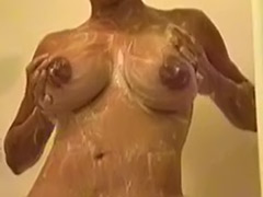 Tit shower, Shower girl, Shower big tits, Shower big, Solo ebony tits, Ebony shower