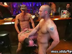 Bar sex, Tied gangbang, Public tied, Public bar sex, Sex bar, Muscle-sex