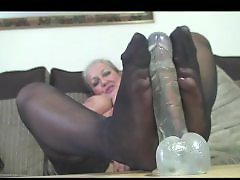 Wanked, Stockings wank, Mature wanks, Mature foot, Mature fetish, Matur foot