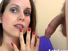 Red t, Red amateur, Red nails, Nails handjob, Nails, Nail