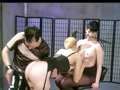 X-mastere, Threesome bondage, Tattoo bdsm, Spanking fetish, High heels threesome, High heel fetish
