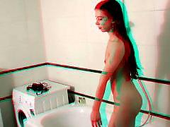 Adolescente en el baño, Adolecentes baño, En la ducha