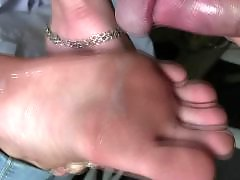 Mix, Footjobs, Amateur footjob