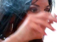 Queen, G queen, G-queen, Anita queen, Anita, Smoking masturbation