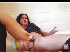 Wines, Roller, Solo milf masturbation, Solo fetish, Milf solo masturbation, Milf solo masturbating
