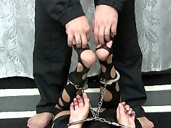 Tickling, Tickled, Tickle, Nylons, Nylon fetish, Nylon