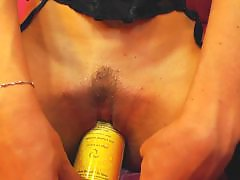 Up stocking, Pussy dildo, Pussy close up, Pussy close, Streching, Stockings sex