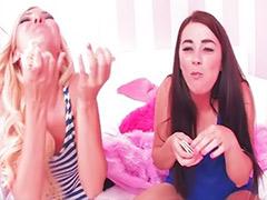Taylor-vixen, Taylor vixen, Taylor, Lesbians behind the scenes, Lesbian contest, Funny