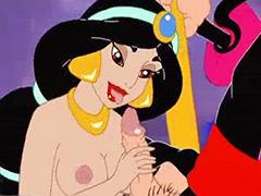 Aladin x, Aladin sex, Anime sex cum