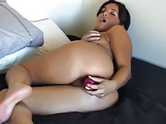 Used wife, Use sex, Tanning, Tanned solo, Tanned brunette, Tanned