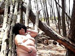 Public nudity bbw, Lost, French granny, French chubby, French bbw, Granny public