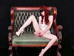 Redhead solo, Solo redhead, Solo high heels, High heels solo, Heels solo, Solo heels