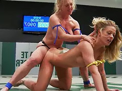 Wrestling lesbian, Wrestling, Wrestle sex, Wrestle, Wrestl, Strap on femdom