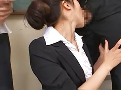 Sex teacher japanese, Maki houjo, Maki, Japanese teacher gangbang, Japanese interracial sex, Interracial hairy