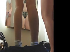 Voyeur teen, Two teens, Teen girls, Girle teen, Changing room, Changing
