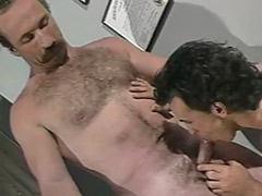 Police sex, Police, Desk, Cum on hairy