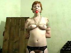 Tits tease, Tit tease, Tease pussy, Redhead bdsm, Pussy nice, Slave bdsm