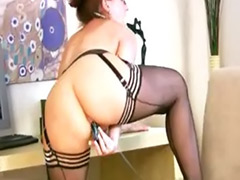 Redhead office, Secretary solo, Secretary masturbating, Solo secretary masturbation, Solo office, Mature secretary