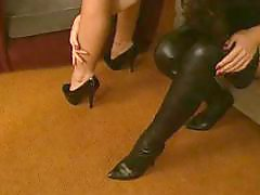 Naked milf, Naked, Milf, foot, Milf foot, Milf fetish, Milf boots
