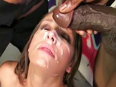 Tits gangbang, Tit bukkake, Jamie, Interracial sluts, Gangbang big tits, Big tits slut
