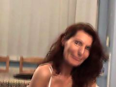 With moms, With mom, Pussy play, Play with pussy, Slut mom, Milf old mom