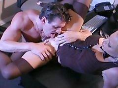 Stocking and fucking, Secretarys, Secretary boobs, Busty stockings, Busty stocking, Busty fuck