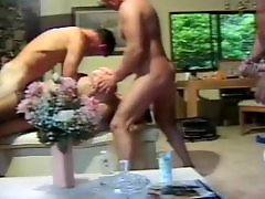 Turns, Threesome facial, Threesome blonde blowjob, Threesome blonde, Threesome big boobs, Threesome milf