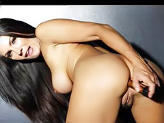 Price, Solo anal toying, Kirsten price, Kirsten, Big tit brunette solo, Anal toys solo