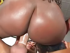 Latina black, Latina threesome, Ebony latina