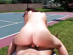 Tennis, Sex bitch, Couple fucked by