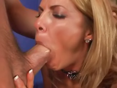 Stockings milf cum, Over sex