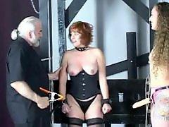 X-mastere, Tit spank, Threesome redhead, Redhead milf, Redhead bdsm, Redhead threesome