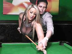 Table, Pool table, Pool, Nylons, Nylon, Inside
