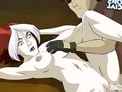 X-men video sex, Sex video cartoon