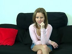 Teen first casting, Teen first time, Teen casting, Nervous casting, First time casting, First time teen