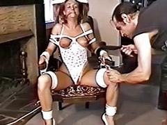 Lingerie spank, Lingerie bondage, Hard fetish, Hard spank, Hard spanking