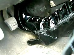 Pumps, Pumping, Pumped, Pedal pumping, Stockings heels, Stockings boots