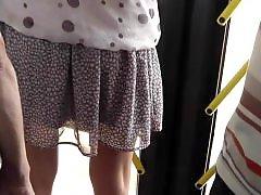 Thongs, Thong, Upskirt voyeur