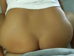 Masturbating in the morning, Morning sex, Morning blowjob, Kitchen cum, Morning