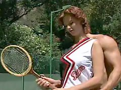 Tennis, Teen slut, Teen hard, Teen brunette anal, Teen big tits, Ramming