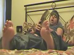 Handjob gay, Handjob feet, Feet solo, Feet masturbate solo, Feet gay, Gays handjob
