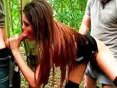 Woods, Wood, Sex s dog, Sex dog, Love & boots, Outdoor gangbang