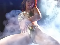 Oiled solo, Oiled asian, Oil solo, Oil asian, Bikini dance, Asian oil