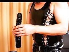 Spanking strap on, Latex strap, Latex spank, Latex femdom, Femdom german, Female femdom