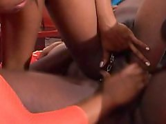 Share black cock, Threesome lesbians, Threesome lesbian, Sharing cock, Sharing blowjob, Sharing