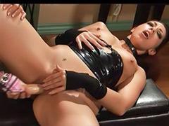 Strap ass, Sex latex, Small tits lesbians, Small tit lesbian, Masturbation latex, Masturbate on ass