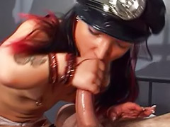 Tits nailed, Midgets, Midget, Midget sex