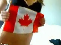 Webcam teen strip, Patriot, Striptease lingerie solo, Blonde teen striptease, Canadian, Webcam strip